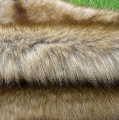 Three toned imitation animal furs