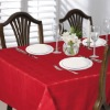 (038) polyester square design tablecloth