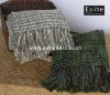 100% Acrylic Fancy Yarn Bed Throw
