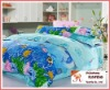 100% COTTON Baby/Children bedding sets Cartoon bed sheets/ Printed Bedding Sets 012