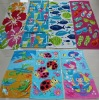 100% Cotton Beach Towel Stock lots