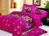 100% Cotton Brushed Printed Bedding Set
