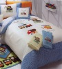 100% Cotton Embroidery Bedding Sets/Embroidery Bedsheet