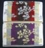 100% Cotton Jacquard Yarn-dyed Bath Towel with Printing