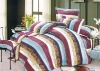 100% Cotton Peach Printed Bedding Sets bed Sheet Duvert cover 4pcs