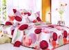 100% Cotton Reactive Printed 4pcs bedding set
