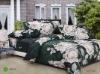100% Cotton Reactive Printed Comforter Set