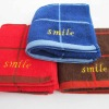 100% Cotton Solid Color Embroidered Towel