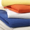 100% Cotton Waffle Kitchen Towels, Pique Towels, Honeycomb Style, Embroidered, Hotel & Spa Use, Wholesaler, Manufacturer, Export