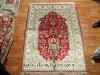 100% Hand Knotted Persian Pattern Silk Rug