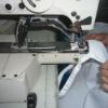 100% Murata Jet Spinning 7.2oz Spun Polyester Aprons Large Cut Bib Apron