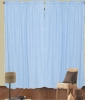 100% Poly embroidery curtain