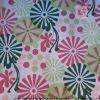 100% Polyester Colorful Fire Retardant Sofa Fabric