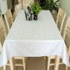 100%Polyester High Quality Jacquard Tablecloth