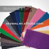 100% Polyester plain carpet and rug