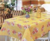 100% Polyester printed Home Table cloth