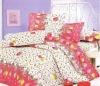 100%Polyster Peach Printing Bedding Set/Bedding Sets