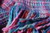 100% acrylic woven blanket throw