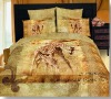 100% cotton Animal picture bedding sets (Reactive print)