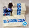 100% cotton Coca-Cola face towel
