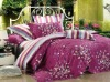 100% cotton Four-piece printing bedding set
