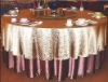 100% cotton Jacuard  wedding Table cloth