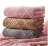 100%cotton Yarn dyed towel