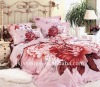 100% cotton active printing bedding set--4PCS