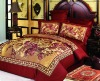 100% cotton active printing bedding set--4PCS
