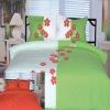 100% cotton applique bedding set