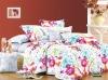 100% cotton beautiful flower reactive print bedding sets