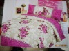 100% cotton bed sheet sets/pillowcase/quilt cover