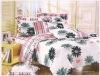 100% cotton bedding set, beautiful printed bedding set