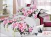 100% cotton bedding set--flower