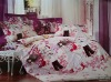 100% cotton bedding set, reactive printed