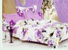 100%cotton bedding set:set with 4 cps 100%cotton active printed
