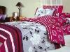 100%cotton comforter set/reactive printing twill bedding sets/home bedding/duvet cover set/home bedding/bed sets