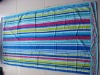 100%cotton double jacquard stripe beach towel