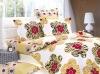 100% cotton duvet set-dancing flowers