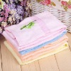100% cotton embroidery face towel with border