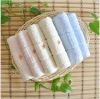 100% cotton embroidery towel with jacquard