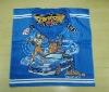 100%cotton fashionable print poncho towel for boy