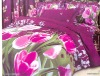 100% cotton flower pattern bedding set