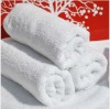 100% cotton hotel bath towel with white
