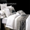 100% cotton hotel bed linen,hotel textile,luxury bedding set for 5 star hote use