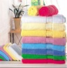 100% cotton hotel towel with border