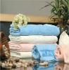 100% cotton jacquard bath towel