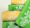 100%cotton jacquard bath towel