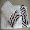 100% cotton jacquard bath towel