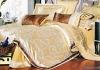 100%cotton jacquard palace satin bedding set/bedding set